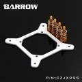 Фото Крепление для водоболока Barrow Simple series X99 CPU Block Bracket White-Gold (CZJX99S)