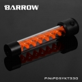 Фото Резервуар Barrow T Virus D5/SPG40A 330 mm Black-Orange (PD5YKT330)