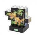 Фото Конструктор Light Stax Junior с LED подсветкой Puzzle Dinosaurer Edition M03004 (LS-M03004)