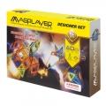 Фото Конструктор Magplayer магнитный набор 62 эл. (MPB-62)