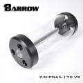 Фото Стеклянный резервуар Barrow PG65 V2 170 mm 390 ml Black