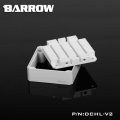 Фото Barrow Special Aluminum Heatsink Top Kit For DDC Pump DCHL-V2 White