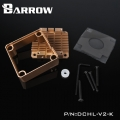 Фото Barrow Special Aluminum Heatsink Top Kit For DDC Pump DCHL-V2 Light Brown