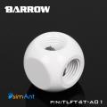 Фото Разветвитель 4 входа G1/4 металлический Barrow (TLFT4T-A01) белый