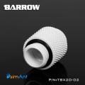 Фото Адаптер прямой Barrow G1/4 поворотный (TBX2D-02) белый