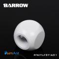 Фото Разветвитель 3 входа G1/4 металлический Barrow (TLFT3T-A01) белый