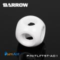 Фото Разветвитель 5 входов G1/4 металлический Barrow (TLFT5T-A01) белый
