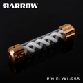 Фото Резервуар Barrow T Virus Reservoir 255 mm Gold (White Spiral) (CLYKL255)