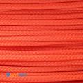 """Фото Оплетка для проводов """"змеиная кожа"""" оранжевый 3мм"""
