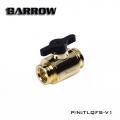 Фото Кран Barrow Mini Valve G1/4 Gold (TLQFS-V1)