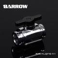 Фото Кран Barrow Mini Valve G1/4 Silver-Black (TLQFS-V1)