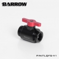 Фото Кран Barrow Mini Valve G1/4 Black-Red (TLQFS-V1)