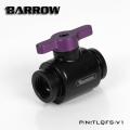 Фото Кран Barrow Mini Valve G1/4 черный-розовый (TLQFS-V1)