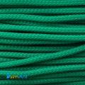 Фото Нейлоновая оплетка для проводов темно-зеленая 3мм