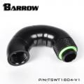 Фото Поворотный адаптер 180 градусов Barrow (TSWT1804-V1) G1/4 черный
