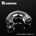 Фото Поворотный адаптер 180 градусов Barrow (TSWT1804-V1) G1/4 хром
