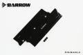 Фото Радиатор Barrow Ramla на память DDR (алюминий) черного цвета