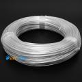 Фото Посеребренный провод в прозрачной тефлоновой оплетке 2.15мм