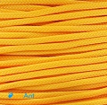 """Фото Оплетка для проводов """"змеиная кожа"""" темно-желтый 3мм"""
