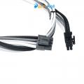Фото Кабель блока питания CORSAIR для CPU 8-pin в черно-бело-сером цвете