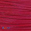 """Фото Оплетка для кабеля """"змеиная кожа"""" темно-красная 3мм"""
