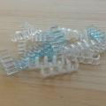 Фото Держатель кабелей 4-pin (Molex IDE) прозрачный открытый