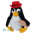 Фото Tux - пингвин Linux (RedHat edition)