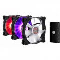 Фото Кулер для корпуса CoolerMaster MASTERFAN PRO 120 Air Flow RGB (3 шт.)