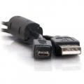 Фото Дата кабель USB 2.0 AM to Micro 5P 0.8m Atcom