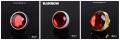 Фото Заглушка Barrow с резьбой G1/4 металлическая Gem series red