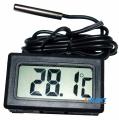 Фото Цифровой LCD термометр (черный)