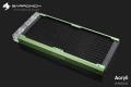 Фото Радиатор водяного охлаждения BARROWCH Chameleon Fish series зеленый 2х120
