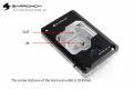Фото Водоблок Barow для AMD RYZEN AM4/AM3 с цифровым дисплеем,мультимодальный .