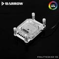 Фото Водоблок Barrow под процессоры AMD AM4 с RGB LRC v.2 подсветкой