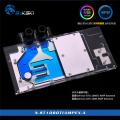 Фото Водоблок от Bykski N-ST1080TIAMPEX-X с RGB подсветкой