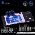 Фото Водоблок от Bykski для видеокарты AMD/DataLand/SAPPHIRE/XFX Radeon RX Vega 56/64 с подсветкой (12V)