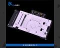 Фото Водоблок от Bykski для видеокарт Asus RX580 Dual O8G / RX480 4G с подсветкой (5V 3Pin)