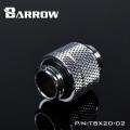 Фото Адаптер прямой Barrow G1/4 поворотный (TBX2D-02) серебрянный