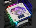 Фото Водоблок от Bykski FR-CU-RA-2018-V2 на процессоры Intel с подсветкой RBW(5v 3pin) и цифровым датчиком температуры