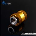 Фото Обратный сливной клапан воды Bykski B-HP-DV - золотой