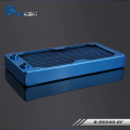 Фото Медный радиатор водяного охлаждения от Bykski B-RS240-DF, синий