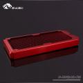 Фото Медный радиатор водяного охлаждения от Bykski B-RD240-TN, красный