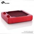 Фото Медный радиатор водяного охлаждения от Bykski B-RS120-DF, красный