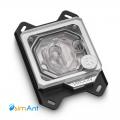 Фото Водоблок для процессора EK-Quantum Velocity RGB - AMD Nickel + Plexi