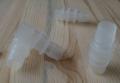 Фото Соединитель-переходник для шлангов 16 и 19мм (пластиковый)