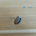 Фото Заглушка серебрянная, с резьбой G1/4 металлическая