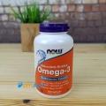 Фото NOW OMEGA 3, 200 таблеток в желеподобных капсулах