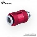 Фото Обратный сливной клапан воды Bykski CC-HP-X-V2 - красный