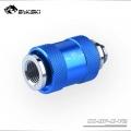 Фото Обратный сливной клапан воды Bykski CC-HP-X-V2 - синий