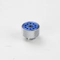 Фото Ручной клапан сброса давления SysCooling, синий хром